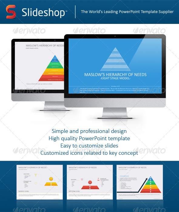 GraphicRiver Maslow s Hierarchy of Needs Flat 8234248