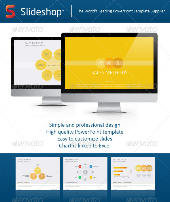 GraphicRiver Sales Methods Flat 8234268