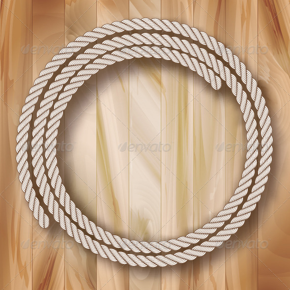 GraphicRiver Vector Rope Frame 8410055