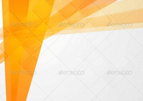 GraphicRiver Abstract Orange Technical Backdrop 8410081