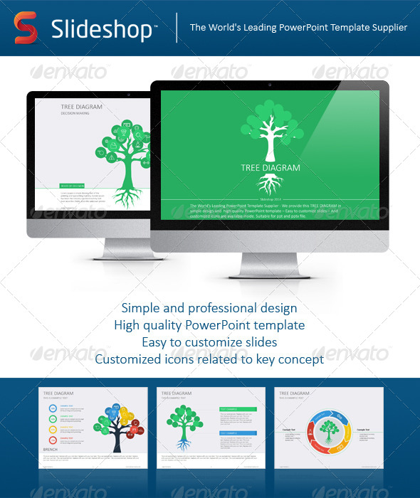 GraphicRiver Tree Diagram Flat 8232360