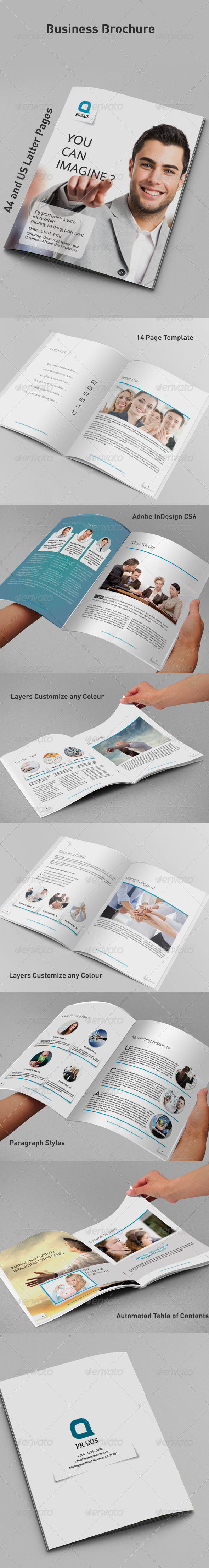 GraphicRiver Business Brochure 8391558