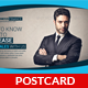 Business and Finance Postcard Template - GraphicRiver Item for Sale