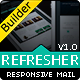 REFRESHER - Responsive Email Template With Builder