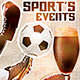 Sport Events Flyer