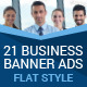 Multipurpose Flat Business Banner Ads - GraphicRiver Item for Sale