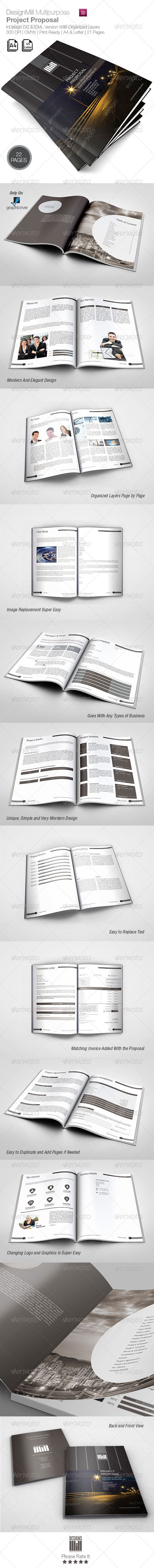 GraphicRiver DesignsMill Multipurpose Proposal 8412186