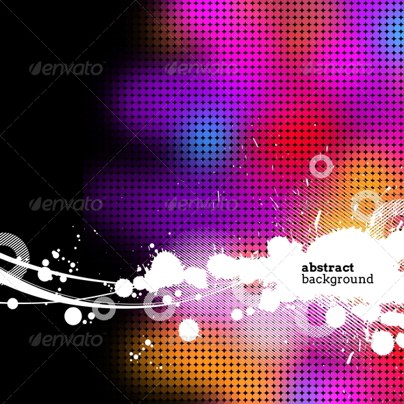 GraphicRiver Abstract Multicolored Grunge Background 8412386