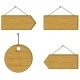 Wood Signs - GraphicRiver Item for Sale