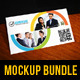 8 Business Card Mockup Templates Bundle - GraphicRiver Item for Sale