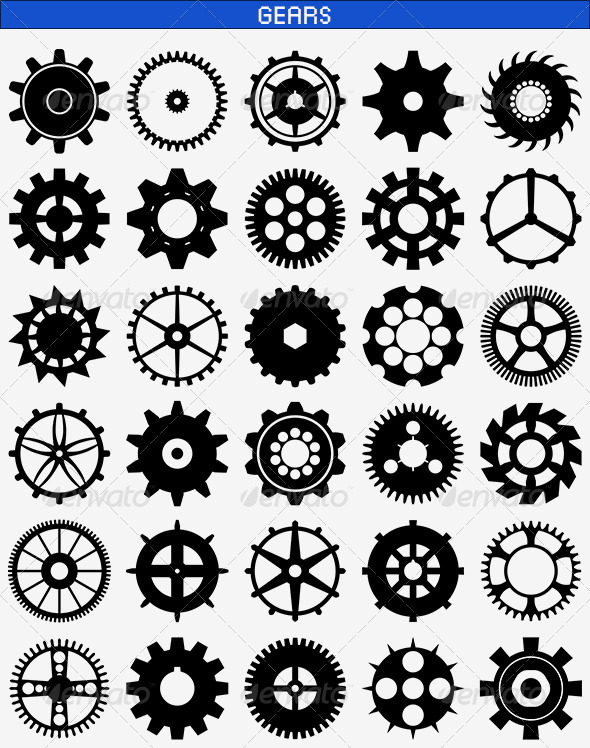 GraphicRiver Gears 8413064