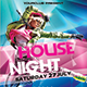 House Night Flyer Poster Template - GraphicRiver Item for Sale