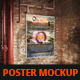 Poster Mockup ( Vintage Style ) - GraphicRiver Item for Sale