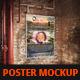 Poster Mockup ( Vintage Style ) - GraphicRiver Item for Sale