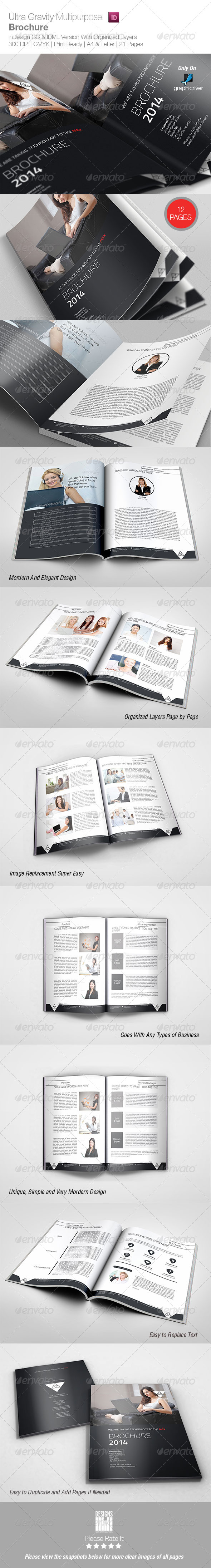 GraphicRiver Ultra Gravity Multipurpose Brochure 8413686