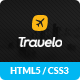 Free Travelo – Responsive Html5 Travel Template (Travel) Download