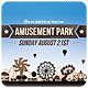 Amusement Park - Invitation - GraphicRiver Item for Sale