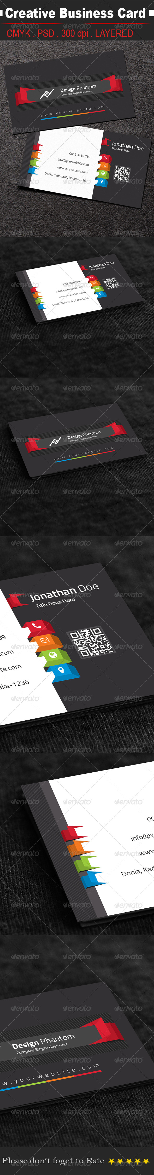 GraphicRiver Creative Business Card 8414008