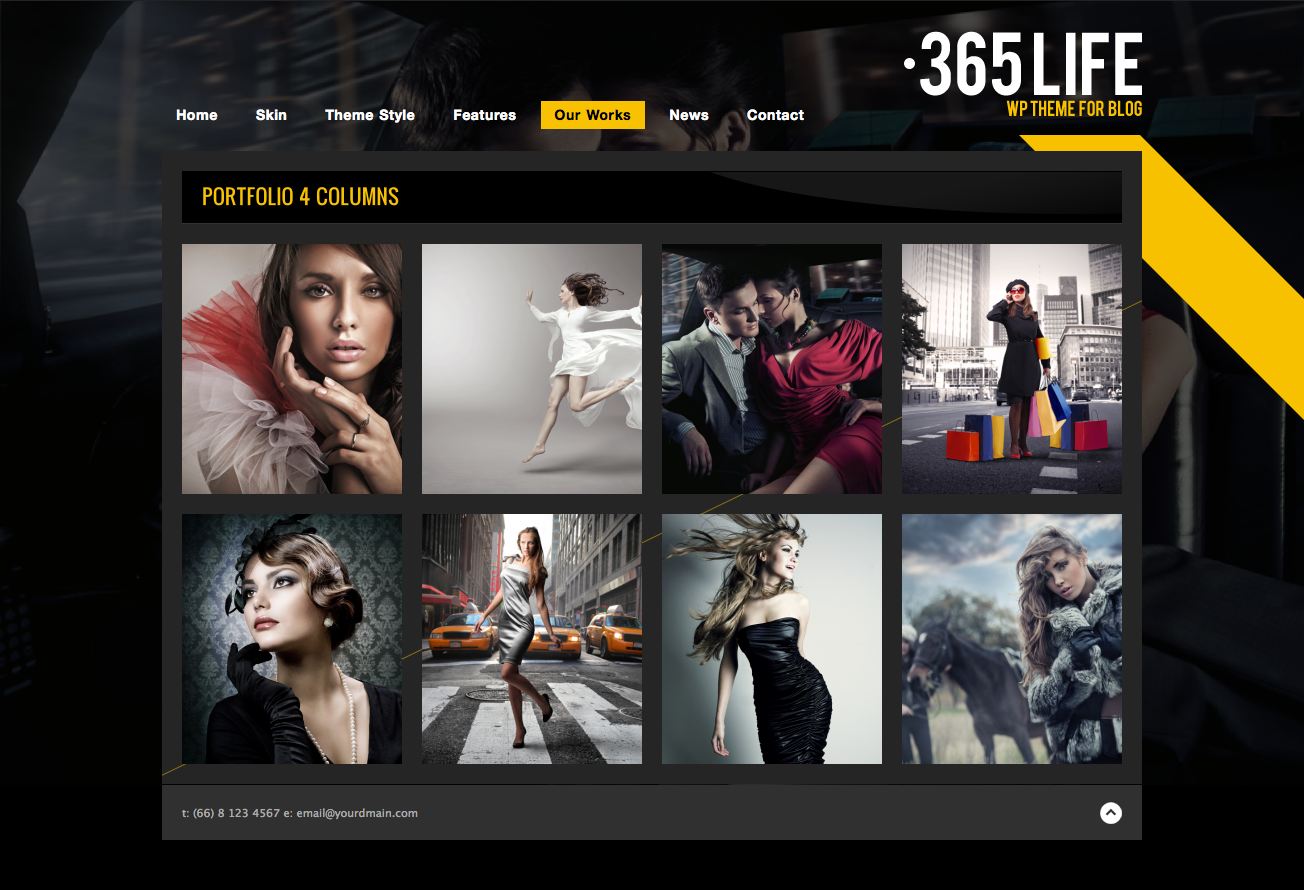 365Life - WP Theme For Blog - portfolio
