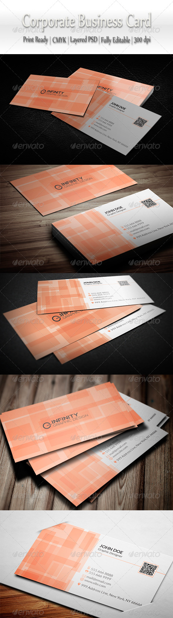 GraphicRiver Corporate Business Card 8354216