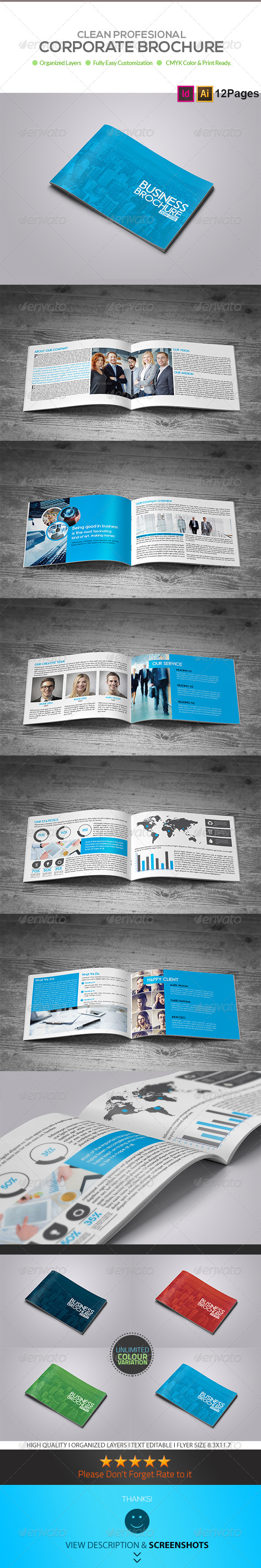 GraphicRiver 12 Page Business Brochure 8414531