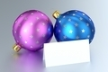Christmas Balls with Blank Card - PhotoDune Item for Sale