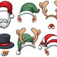 Christmas Hats - GraphicRiver Item for Sale
