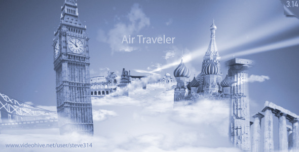 Air Traveler Logo Intro