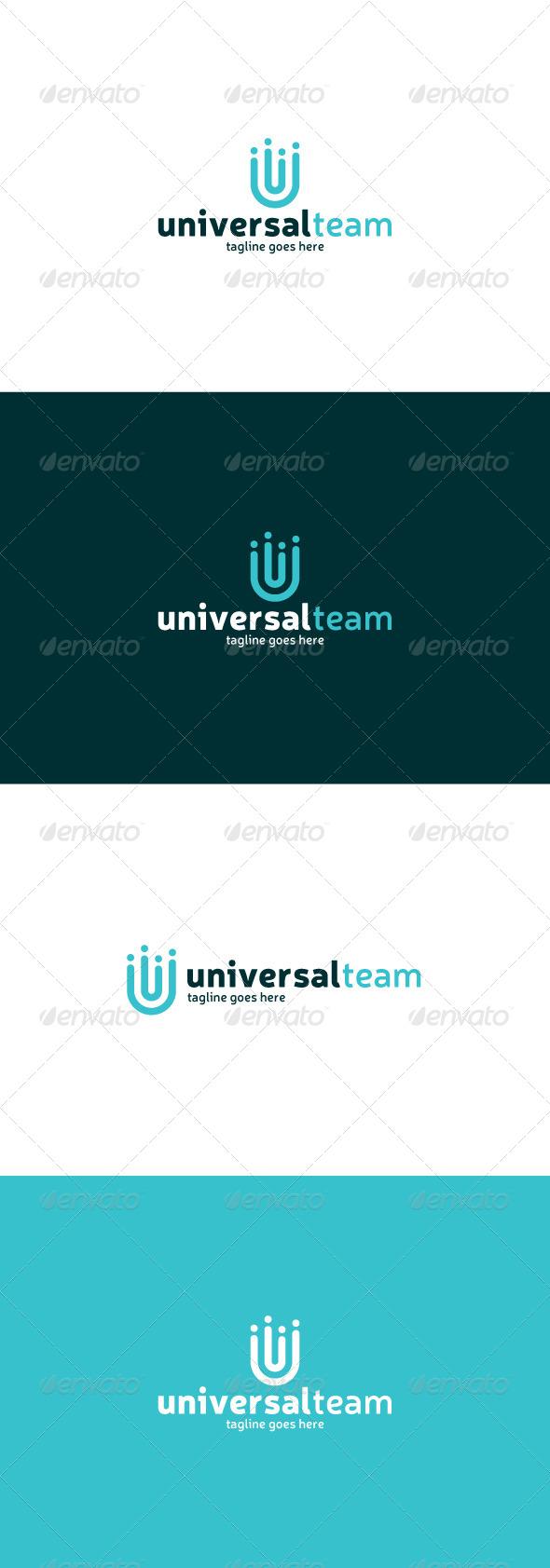 GraphicRiver Universal Team Logo Letter U 8414978