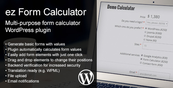 ez Form Calculator