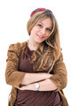smiling young attractive woman portrait - PhotoDune Item for Sale