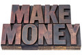 make money in wood type - PhotoDune Item for Sale