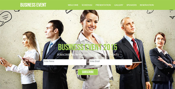 ThemeForest Business Event 8319459