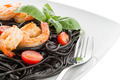 Black spaghetti with shrimps - PhotoDune Item for Sale