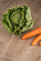 Savoy cabbage and carrots - PhotoDune Item for Sale