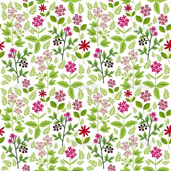 GraphicRiver Floral Pattern 8416228