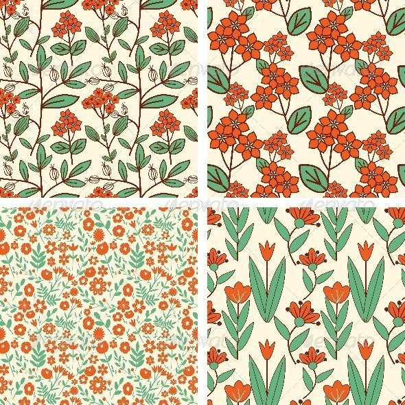GraphicRiver Patterns Set 8416321