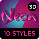 Retro Funky 3D Text Effects - 10PSD - GraphicRiver Item for Sale