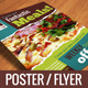 Typographic Restaurant Promo Poster/Flyer (A3/A5) - GraphicRiver Item for Sale