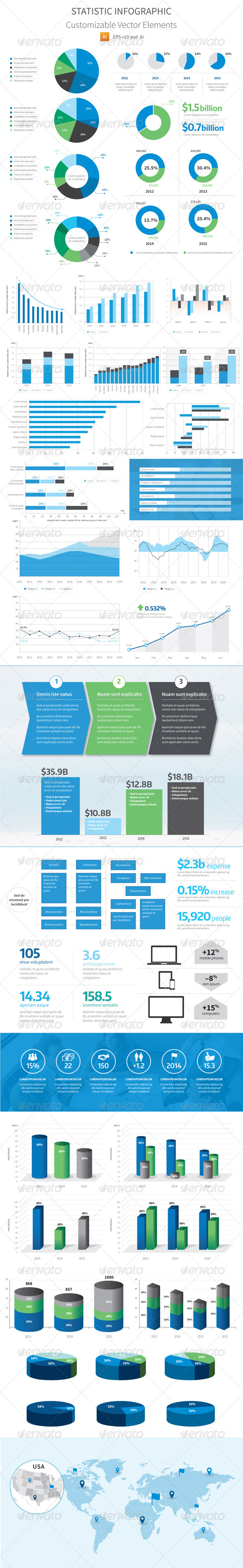 GraphicRiver Statistic Infographic Vector 8416776