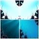 Set of Underwater Background