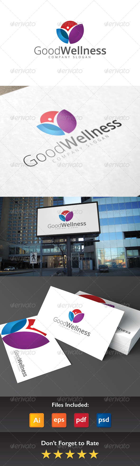 GraphicRiver Good Wellness Logo 8409179