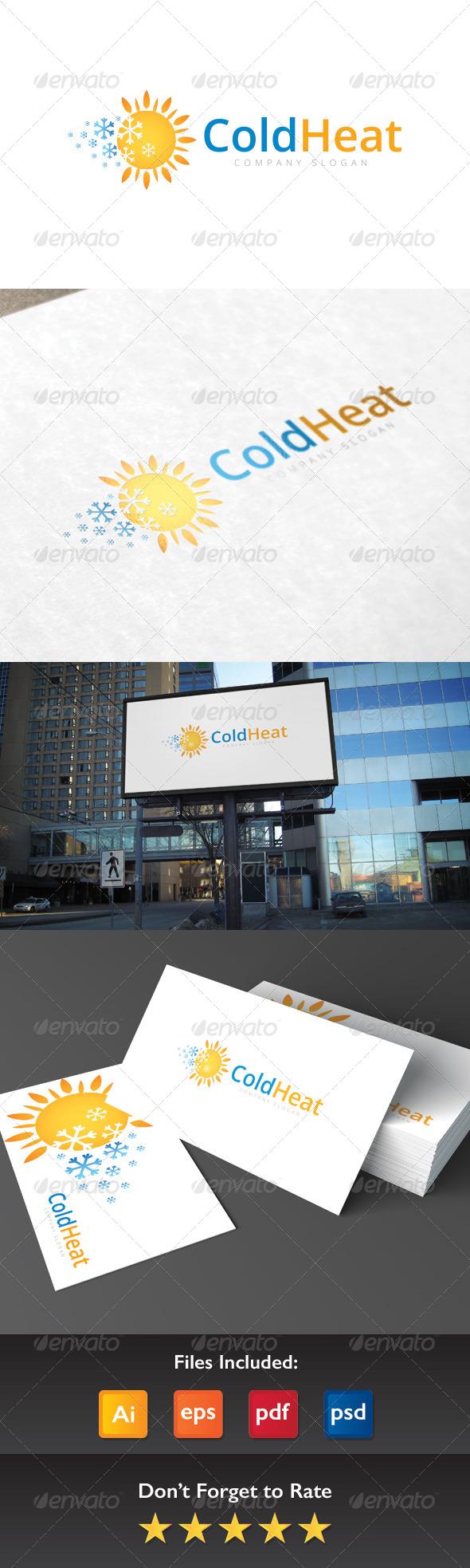 GraphicRiver Cold Heat Logo 8409194