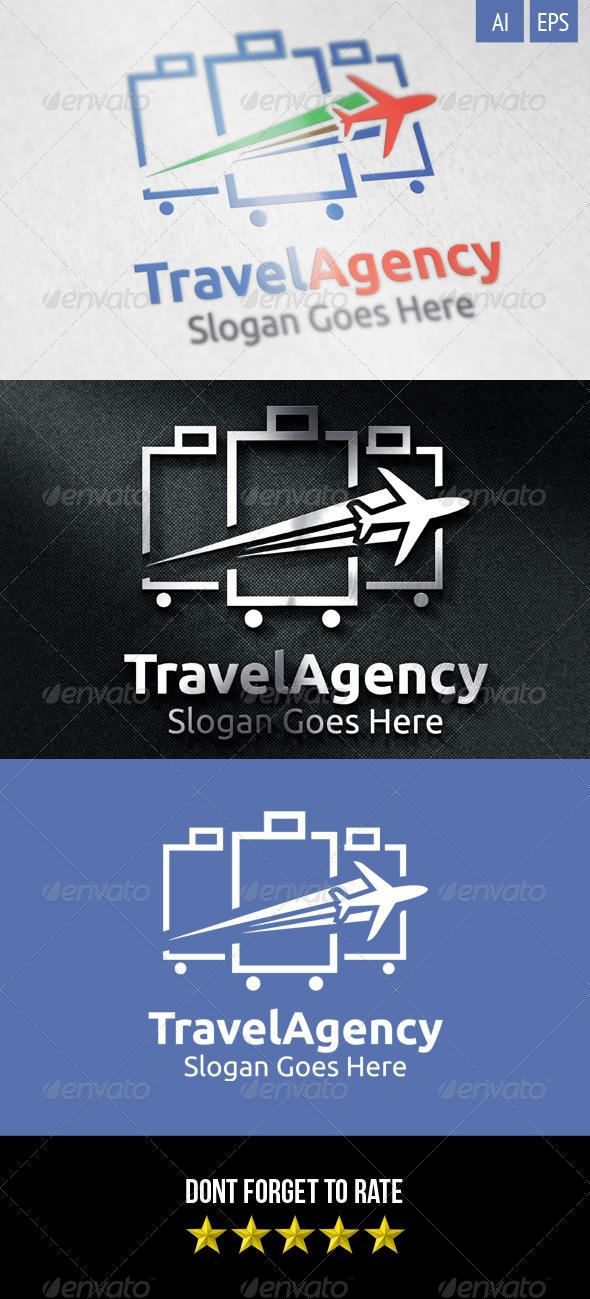 GraphicRiver Travel Agency Logo 8417087