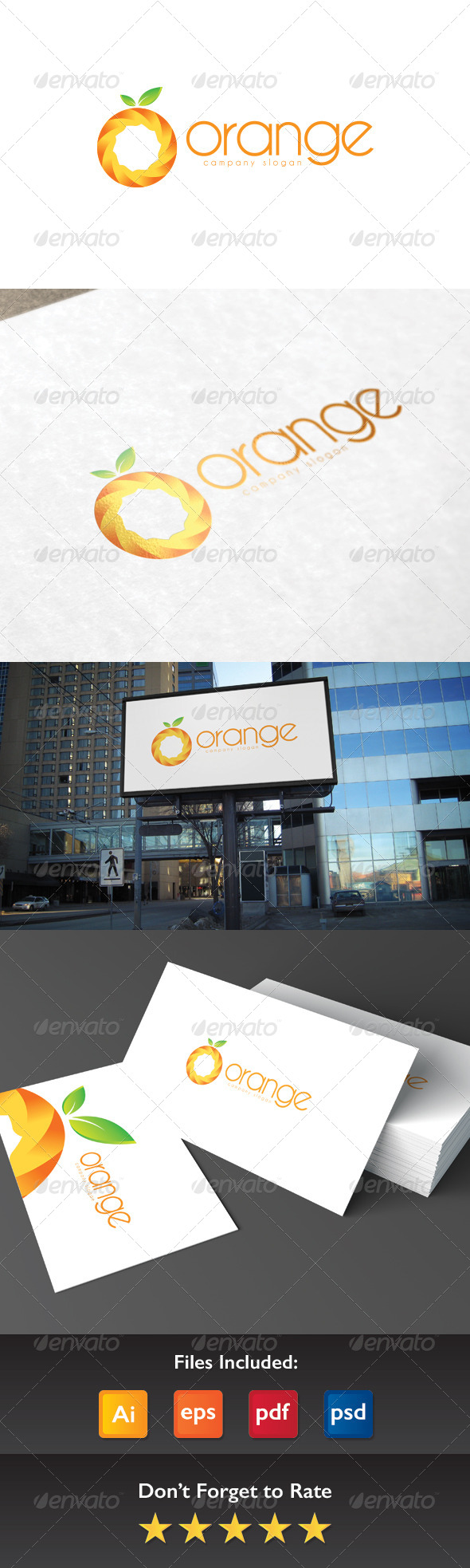GraphicRiver Orange Logo 8417202