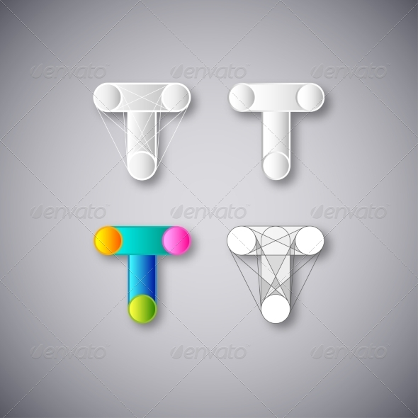 GraphicRiver Abstract Letter T 8417240