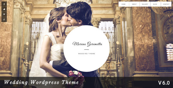 Moreno - Responsive Wedding Wordpress Theme - Wedding WordPress