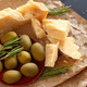 Parmesan cheese and olives - PhotoDune Item for Sale