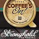 Coffee's On Event Flyer Template - GraphicRiver Item for Sale