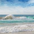 sea, sand beach and blue sky - PhotoDune Item for Sale